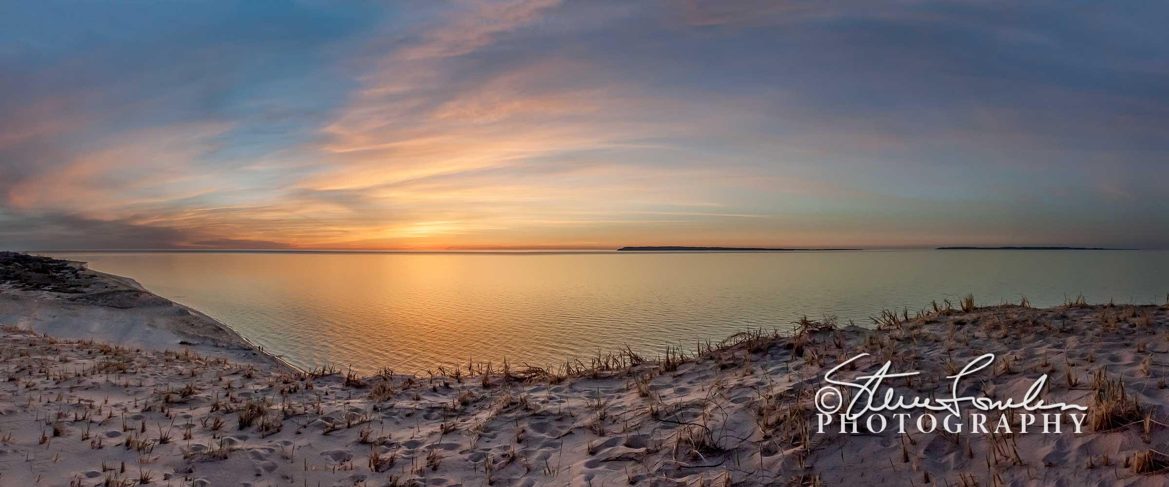 Sleeping-Bear-Dunes-Sunset-pano-May-2013