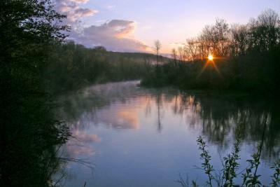 SUN007-Betsie-River-Sunrise-8X12.jpg