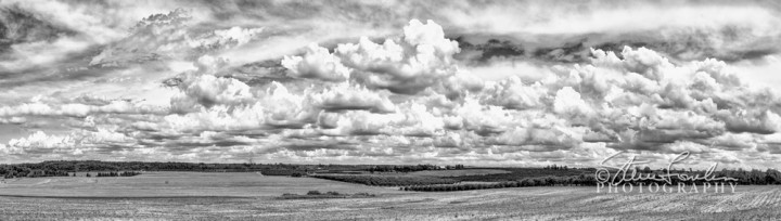 US-31-Farmland-Clouds-B+W