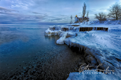 PBL167-REWORK-Icy-Dawn-At-Pt-Betsie-watermarked